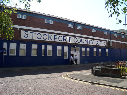 Edgeley Park - Stockport County | You're Supposed To Be At ...