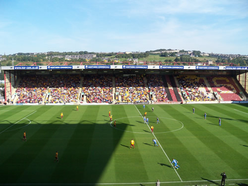 The Coral Windows Stadium - Bradford City